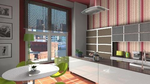 Simone - Modern - Kitchen  - by KittiFarkas