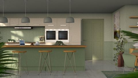 Eucalyptus - Modern - Kitchen  - by Claudia Correia