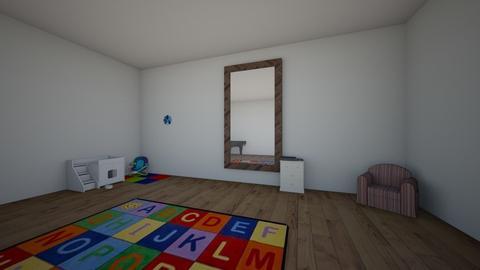 john - Kids room  - by 10kozdim