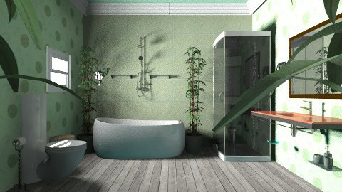 suite verde - Glamour - Bathroom  - by talita3636