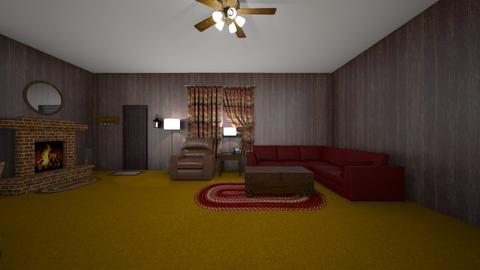 Country LR - Living room  - by WestVirginiaRebel
