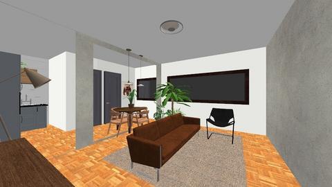 314 N cozinha - Living room  - by Karina2