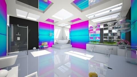 clinacly fun - Modern - Bathroom  - by Evangeline_The_Unicorn