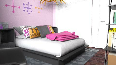 Audrey Elizabeth - Minimal - Bedroom  - by audreyelizabethgeisler
