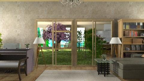 Indoor garden1e - Modern - Garden  - by Siti Idrus