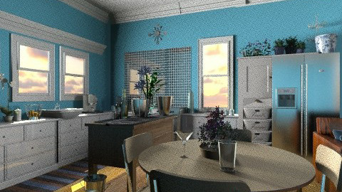 wck 3 - Country - Kitchen  - by ferguesfalls