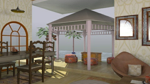 taste of india - Glamour - Living room  - by trees designs