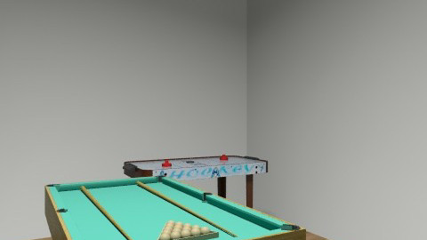 games room - Retro - by skateboarder