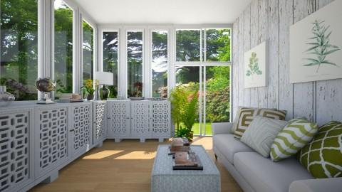 Sun Room - Garden  - by niidurose