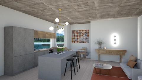 Kitchen living - Global - Living room  - by SunflowerStudios