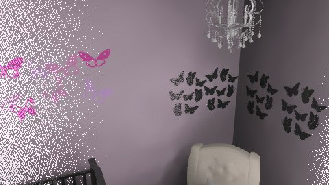 Adalyns Nursery - Glamour - Kids room  - by RaynaW