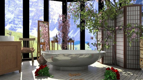 bath ranch - Bathroom  - by Juancho M