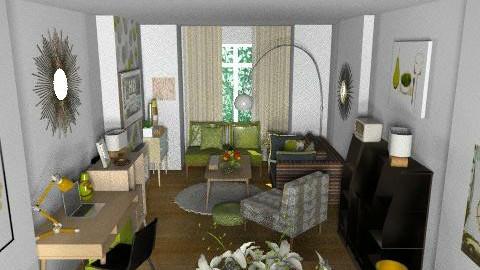 LivingRoom @ Samms123 - Retro - Living room  - by camilla_saurus