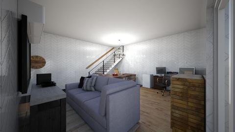 Mini Room - Modern - Living room  - by Aad1L