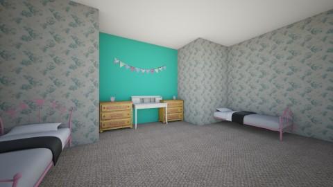gracie and jacie - Modern - Kids room  - by MY10096