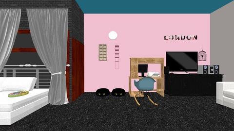 my bedroom  - Bedroom - by mirella02710