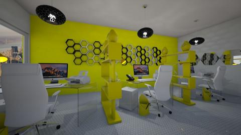 CR Bee inspired office - Office  - by weinsteinkids