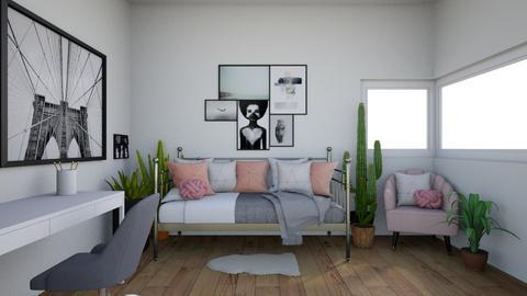 Lea Plant Bedroom - Classic - Bedroom  - by malooriginal