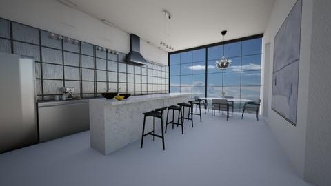 Cliffhouse kitchen - Minimal - Kitchen - by kitty