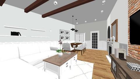 Salon z wyposazeniem - Classic - Living room - by LadyAnnMarie