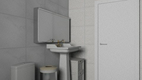 simples toalet - Eclectic - Bathroom  - by andreapeper