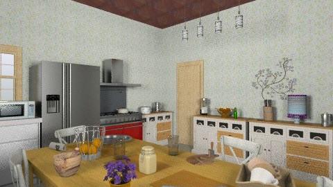 bfffffffffffffff - Modern - Kitchen - by helindir