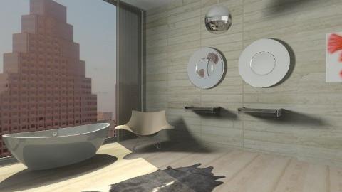 Mod Bath - Modern - Bathroom  - by Baustin