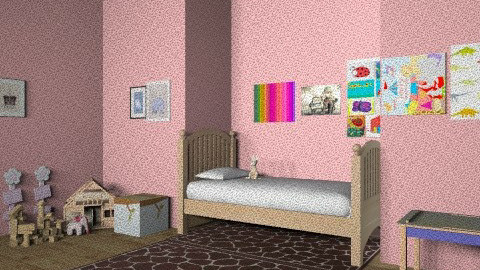 Girls room - Classic - Kids room  - by KamiMcC401