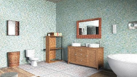Bathroom  - Glamour - Bathroom  - by laurenturner19