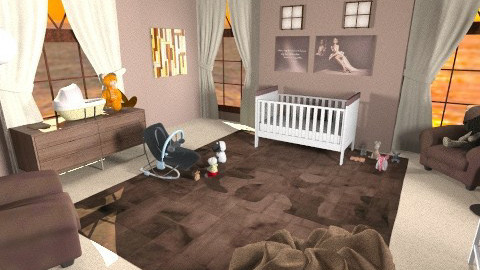 Nursery - Modern - Kids room  - by CassW
