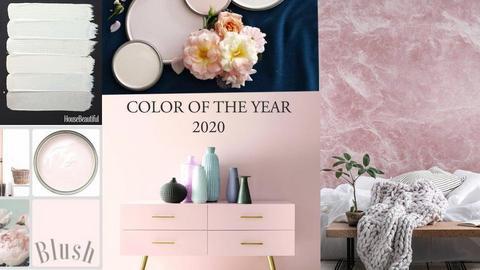Kolaz pink office zidovi - by Gagany