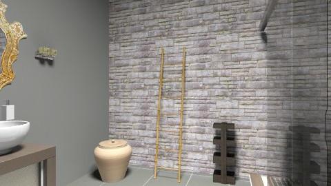 Dabathroom - Rustic - Bathroom  - by Lelle14