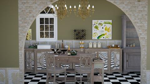 Italian Style Kitchen - Kitchen  - by Feeny