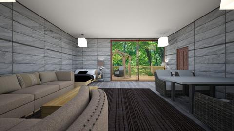 Modern tree home - Bedroom  - by dylan64553