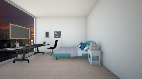 5sos room - Bedroom - by zoe793