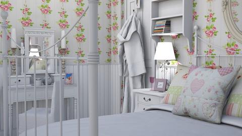 shabbysleep - Vintage - Bedroom  - by donella