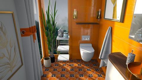 arty toilet room - by nitya_avvari