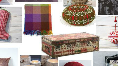Alpine Shelter - red/purple - Rustic - Home accessories - by mydeco Insider