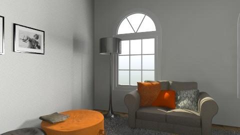 zolderkamer - Vintage - Living room  - by elienweyers