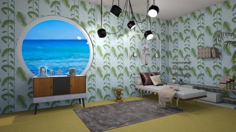 Outgoing beach bedroom - Bedroom  - by noadesign