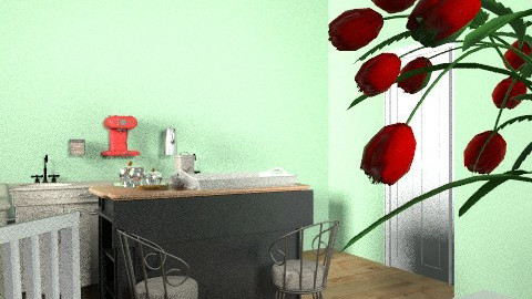 KITCHEN - Vintage - Kitchen - by ajiram_marija