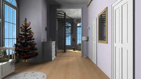 Christmas corridor - Classic - by Haecinta