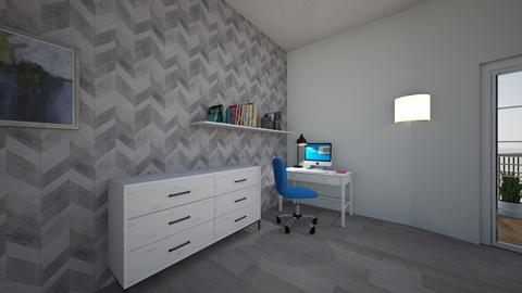 Teen Boy room  - Modern - Bedroom  - by RaeLu1228