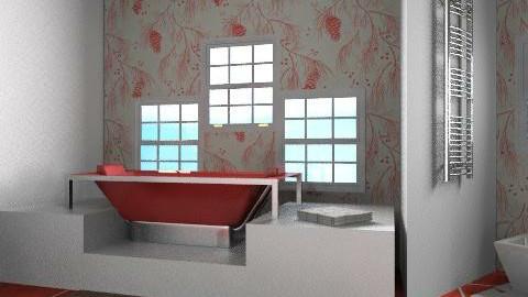 bathroom q - Minimal - Bathroom  - by natalia20po