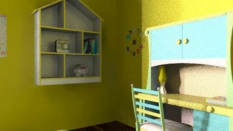 kiddom - Minimal - Kids room  - by chic1