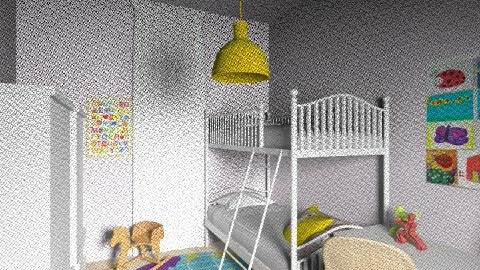 Lia_Itay_91a - Classic - Kids room  - by noga boyarsky