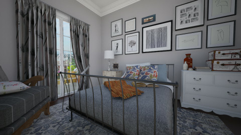 My bedroom - Bedroom  - by Thrud45