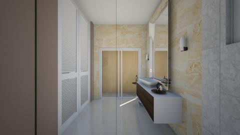 Bathroom Angle 3 - Minimal - Bathroom  - by gerlukavich