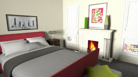 Mixed MasterBdrm - Modern - Bedroom  - by LadyVegas08