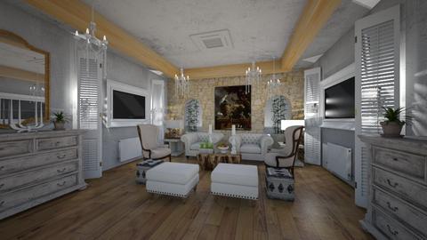 Hotel_Mountain_Lounge_Interior - Classic - Living room  - by Nikos Tsokos